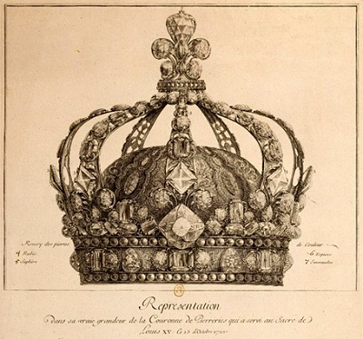 La couronne royale de Louis XIII